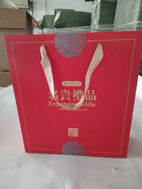 Eco Friendly Custom Printed Paper Bags With Gloss Lamination Finishing